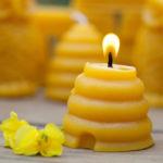 Candele in cera d'api (3)